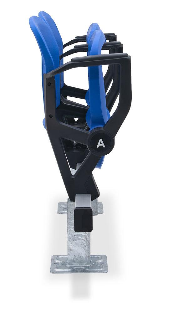 115.115.25.25 Solara Short Back stadium chair