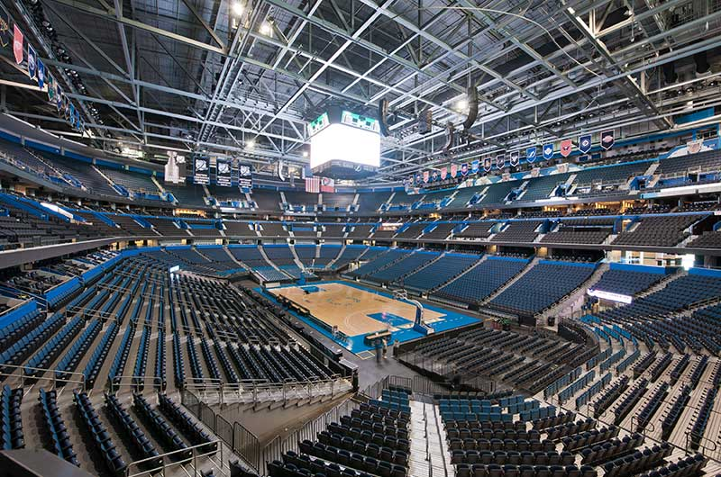Nw Credit Union >> Amalie Arena's fixed stadium seating manufactured by Irwin Seating Company | Irwin Seating ...