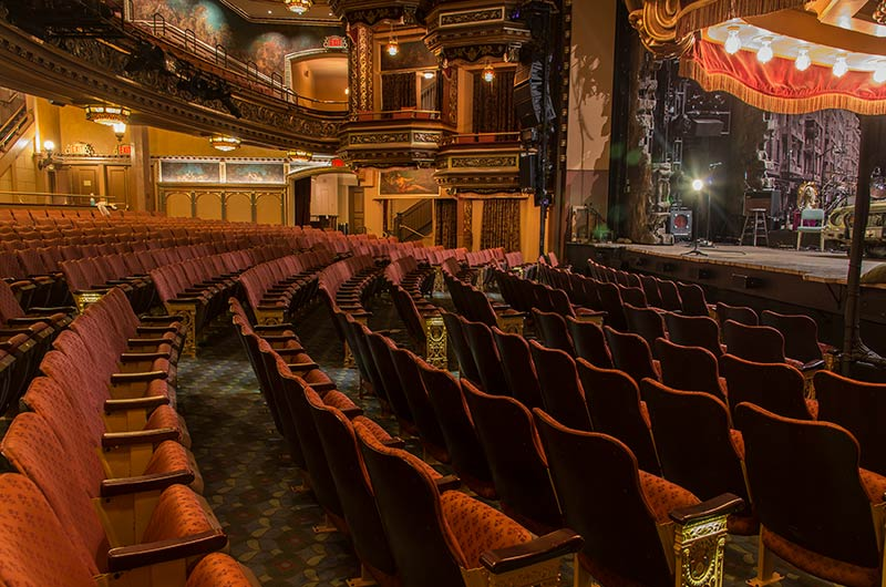 Belasco Theatre With Custom Meteor Historic Theater Chairs