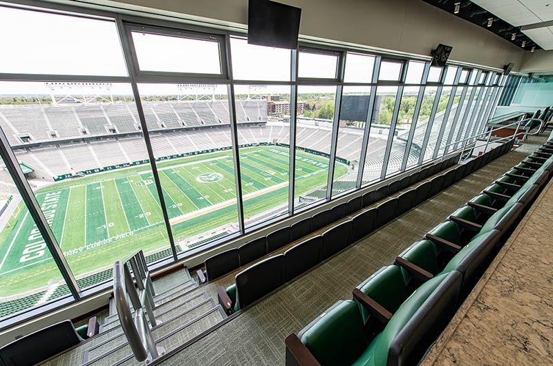 Nw Credit Union >> Installation portfolio for the Colorado State University Canvas Stadium with Centurion, Marquee ...