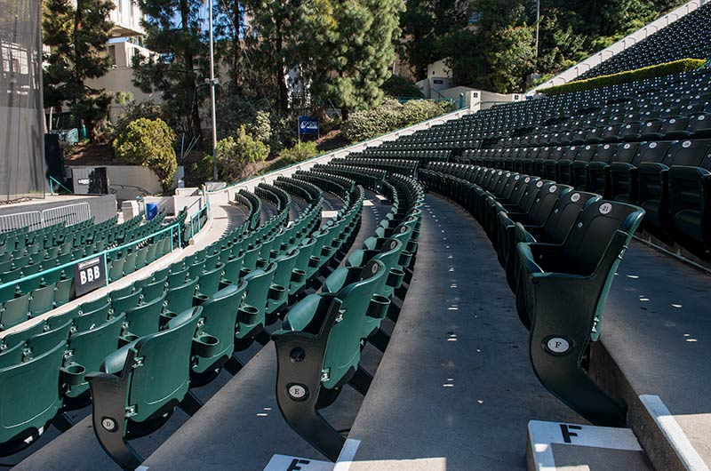 Nw Credit Union >> CalCoast amphitheater with model 130.45.35.35 Centurion outdoor stadium seating manufacture by ...