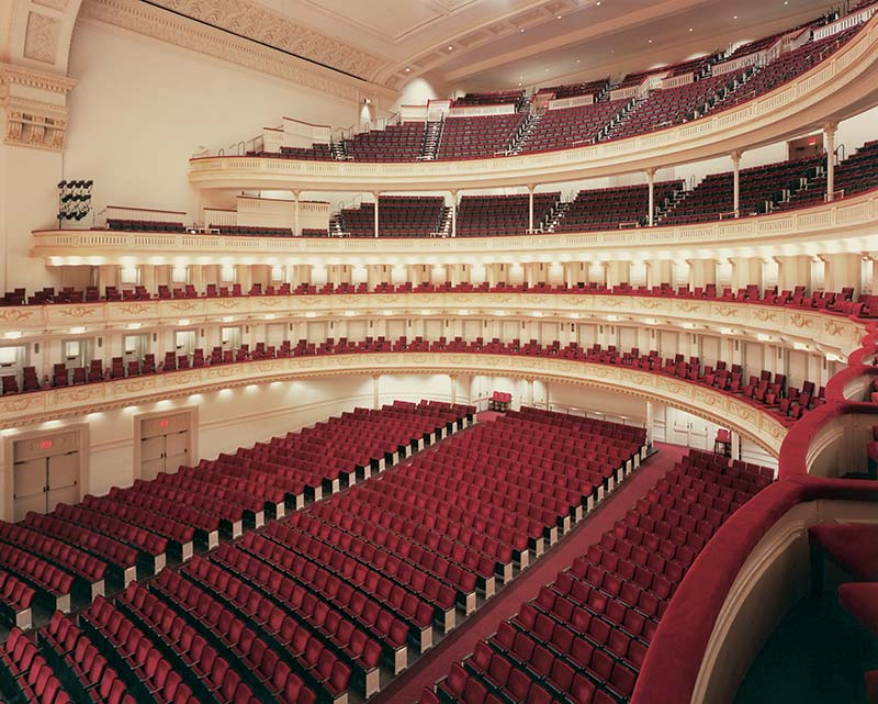 Nw Credit Union >> Carnegie hall with 6.6.04.8 Century PAC fixed audience ...