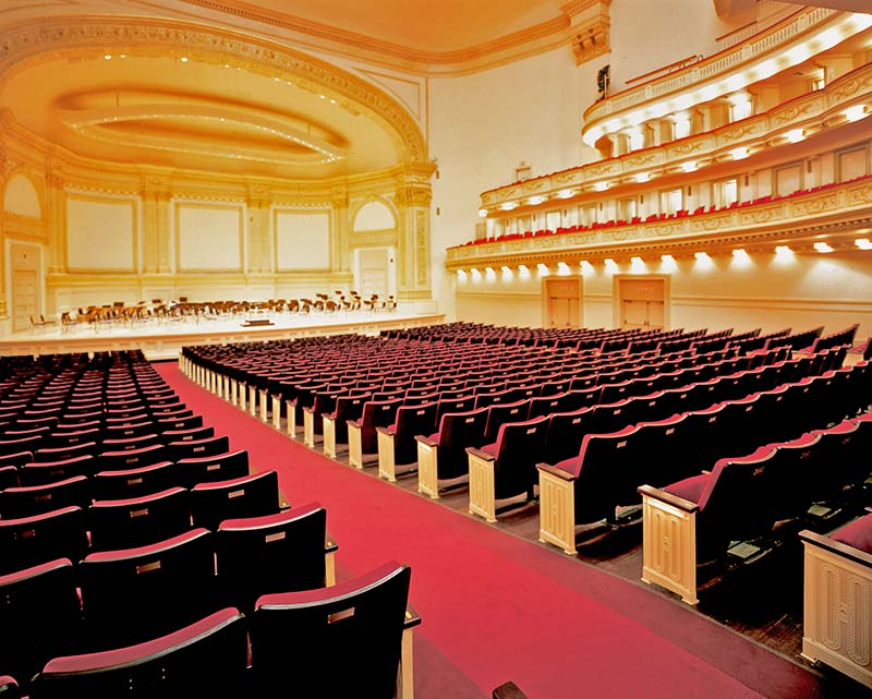 Carnegie Hall With 6 6 04 8 Century Pac Fixed Audience