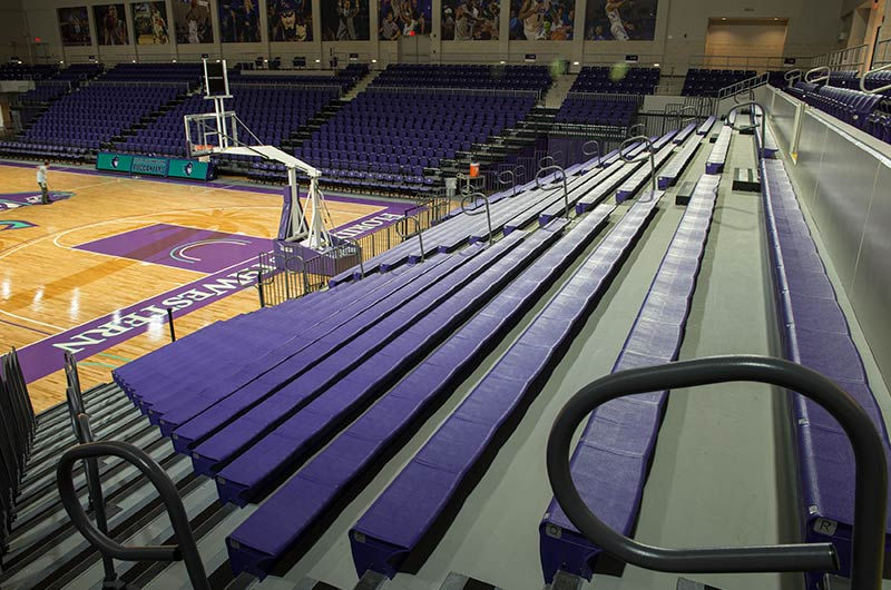 Nw Credit Union >> FSW Suncoast Credit Union Arena with fixed arena seating and telescoping stands from Irwin ...