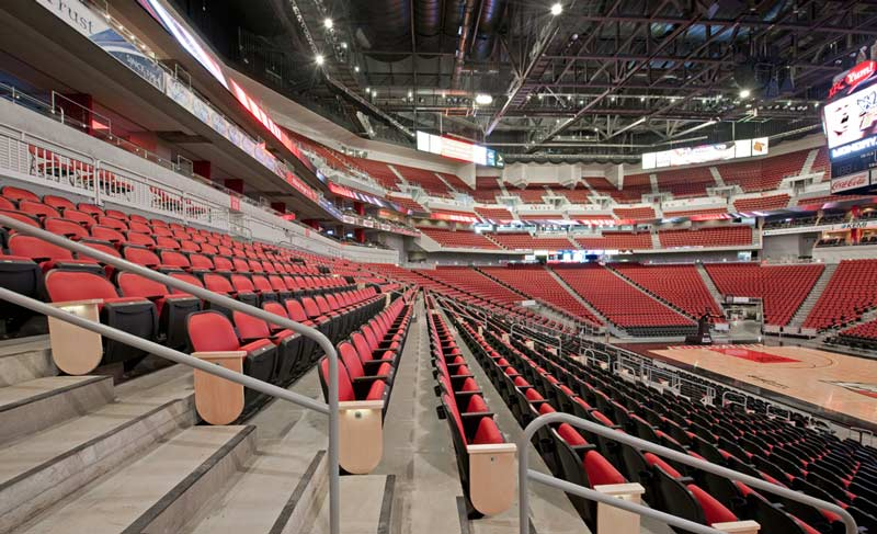 Nw Credit Union >> KFC Yum! Center with Irwin Seating Millennium and Marquee ...