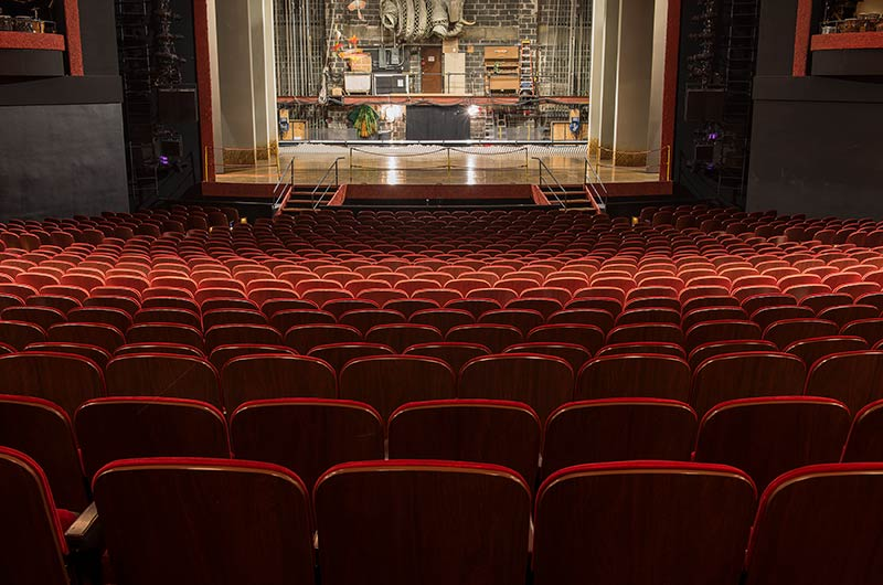 Credit Union Nyc >> Minskoff theatre fixed audience seating by Irwin Seating with model 17.12.66.4 Davies that ...