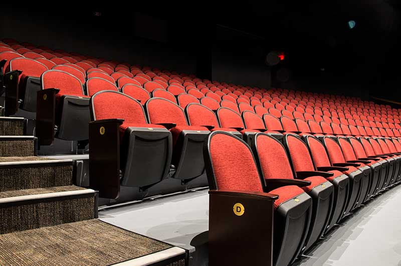 Polk State College Fine Arts Center With Irwin Seating Model 9112