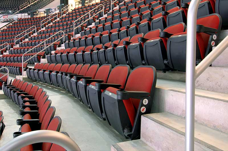 pretty nice 7e283 c78bf Prudential Center | Irwin Seating Company (en-US)