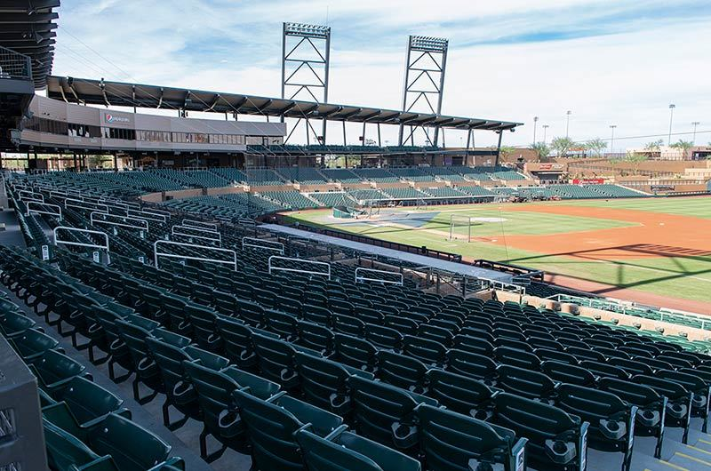 Salt River Fields With American Stadium Chair Model 507