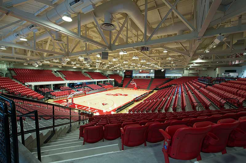 Nw Credit Union >> Stony Brook University's Island Federal Credit Union Arena with Irwin Seating Patriot, Citation ...