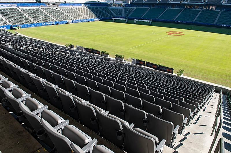 Dignity Health Sports Park (formally Stubhub Center) with ...