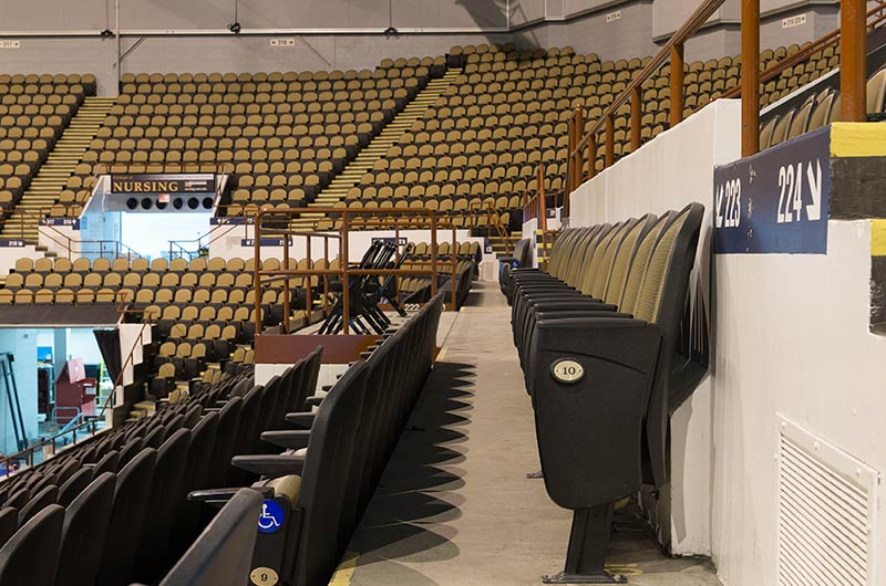Nw Credit Union >> UW Milwaukee Panther Arena model 91.12.20.4 Millennium arena chairs and low rise telescopic ...